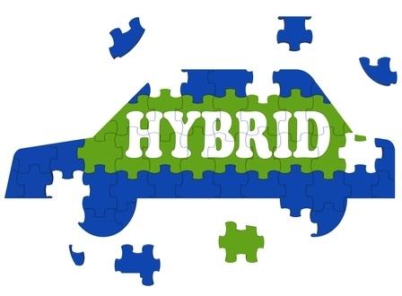 Hybrid private hire car